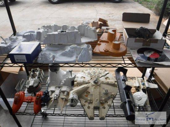 HUGE lot of STAR WARS sets - vehicles - metal figurines