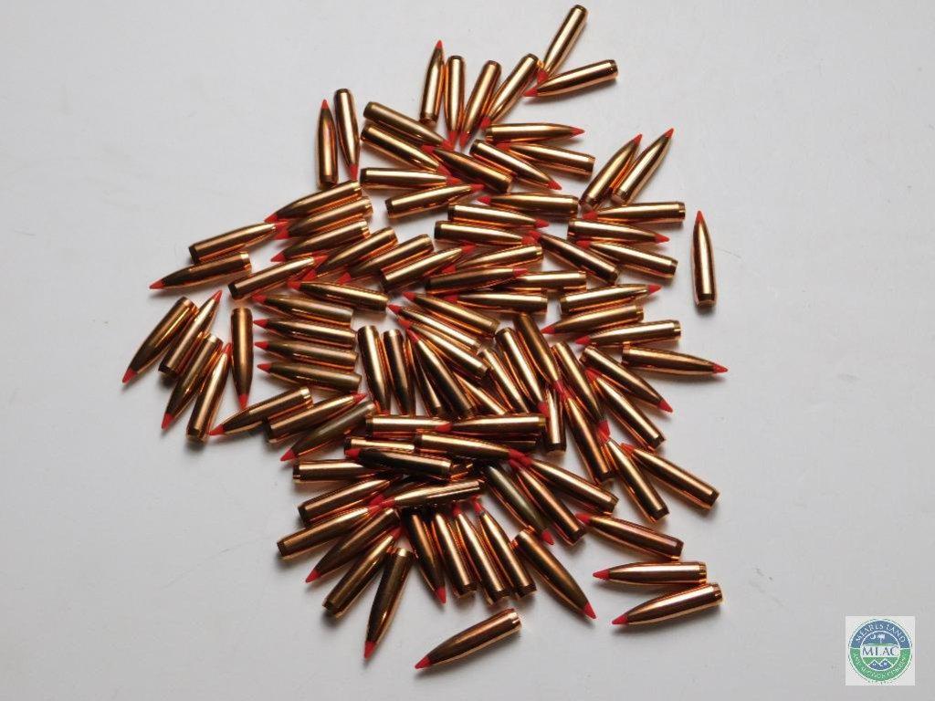 Lot: 100 Nosler Ballistic Tip - 7mm 150 grain | Proxibid Auctions