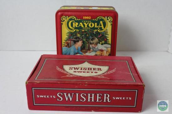 Crayola Crayon Set and Swisher    Auctions Online | Proxibid