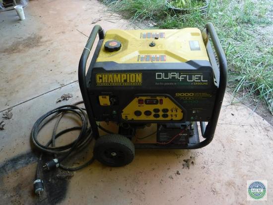 Champion Duel Fuel Generator 439cc