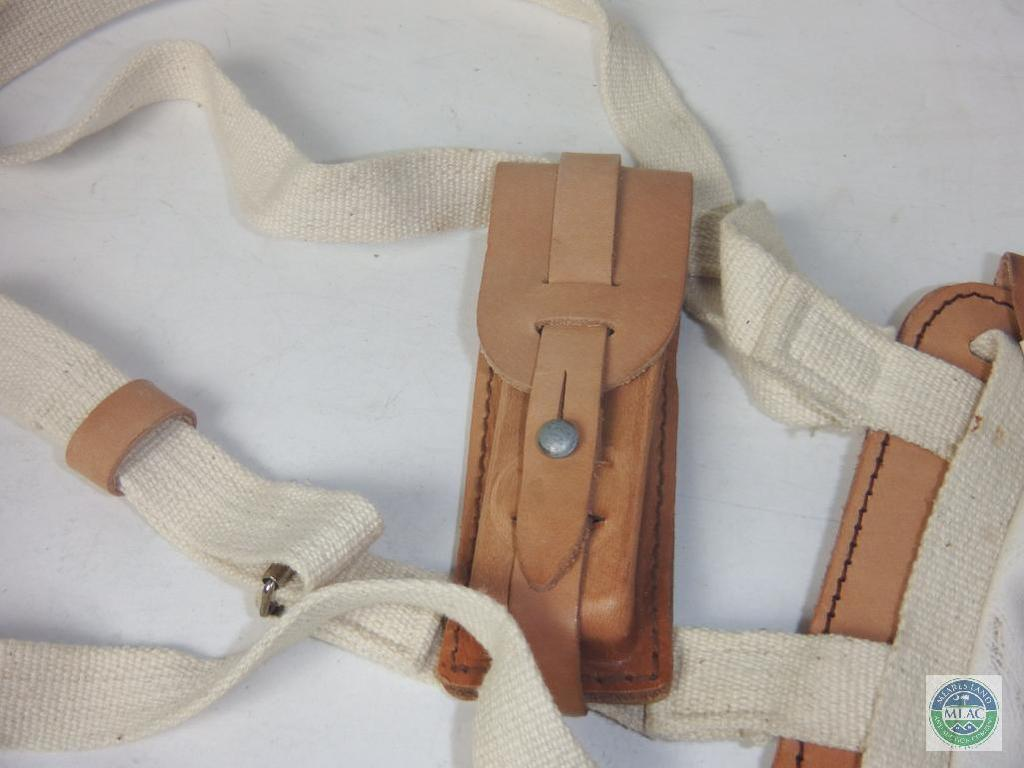 Lot: Vintage German Leather Shoulder Holster | Proxibid Auctions