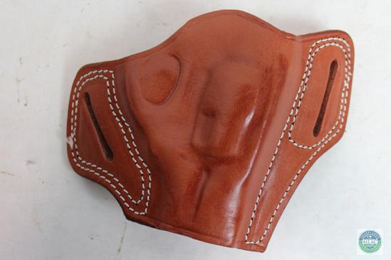 New Leather Pancake Holster fits Ruger LCR | Firearms