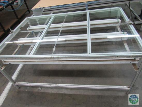 Screen Printing Metal & Glass Registration Table