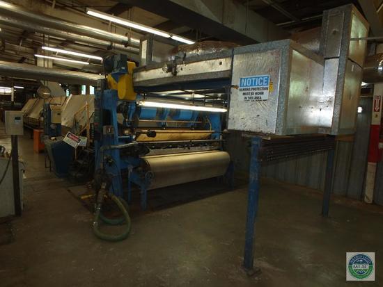 Vinyl Back Coir Yarn Tufting Machine Complete 169' Line