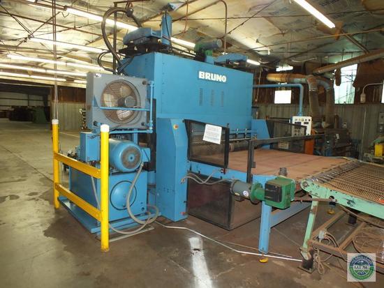 Bruno Die Cutting Hydraulic Press
