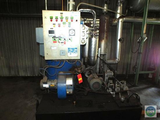 Babcock Wanson 1.7 Million BTU Thermal Oil heater