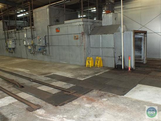 130' Ray Paul Chain Driven Gas Drying Oven
