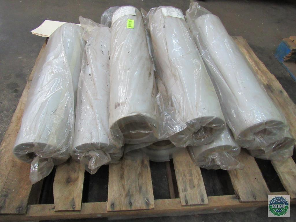 Lot: Pallet of (8) rolls of screen material - SABIC Polymershapes