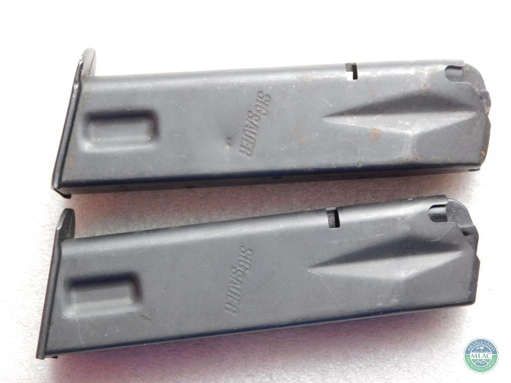Lot: Lot 2 Factory Sig Sauer P226 15 Round 9 mm Magazines