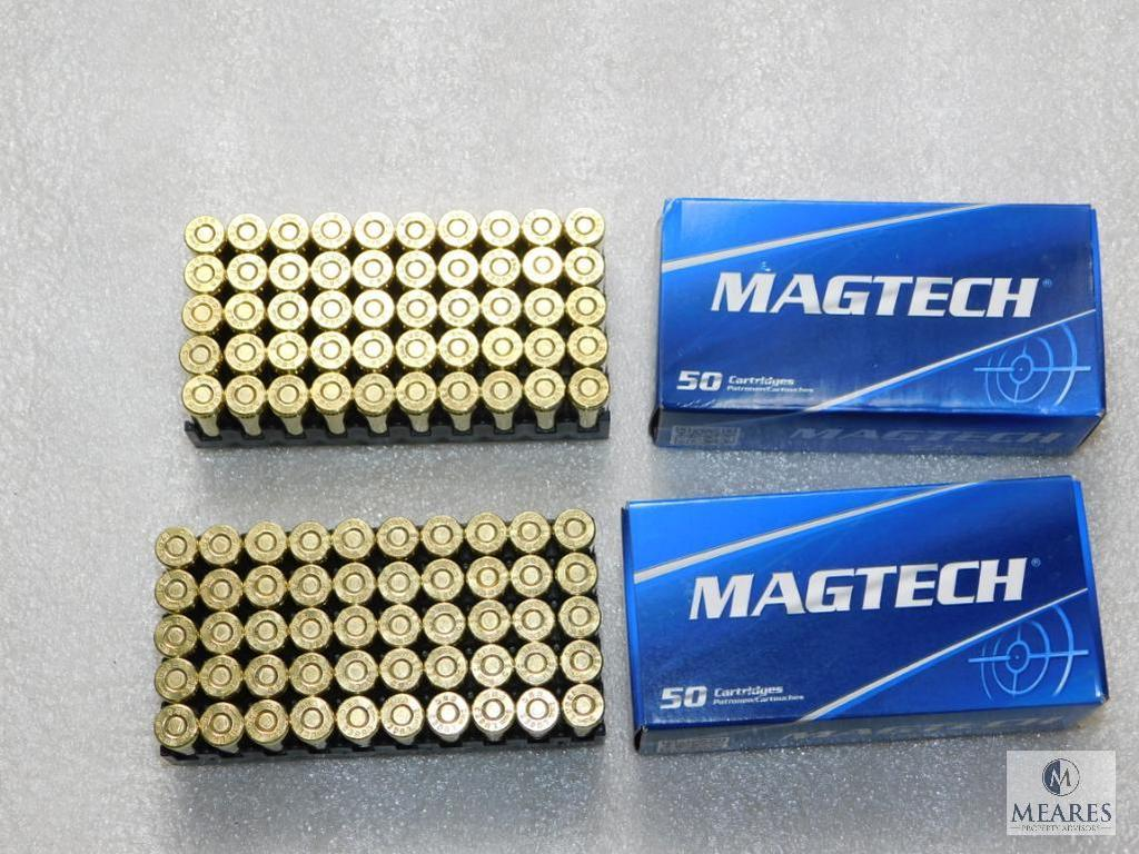 Lot: 100 Rounds Magtech 9mm Luger Ammunition 115 Grain Ammo