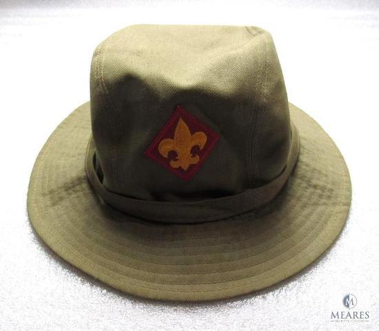 Vintage Oscar de la Renta Boy Scout Hat