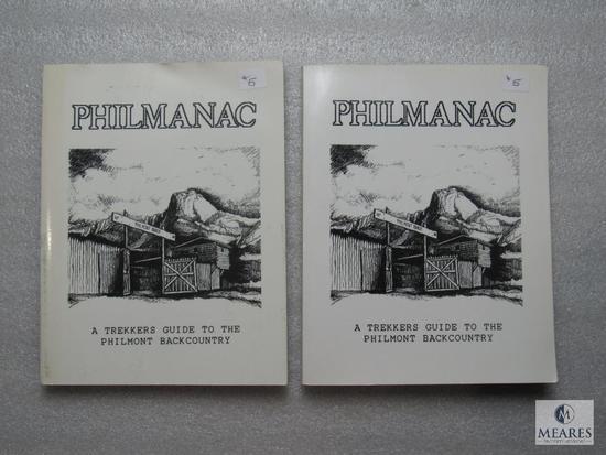 Lot 2 Philmanac Trekkers Guide to the Philmont Backcountry Books