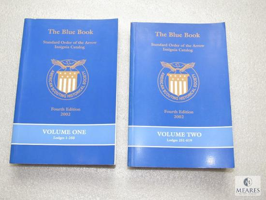 Lot 2 The Blue Book Standard Order of the ARrow Insignia Catalog 2002 Vol. One