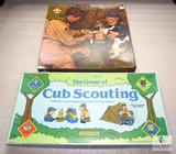 Norman Rockwell Boy Scouts BSA 540 pc Puzzle & Cub Scouting Board Game