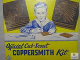 Vintage Official Cub Scout Coppersmith Kit