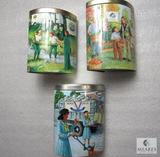 Lot of 3 Girl Scouts 2004 - 2006 Tins Storage Trinket Boxes