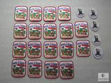 Lot 23 Garfield Patches 18) 1999 Odie Crossroads Cub Day & 5) Recruiter Patches