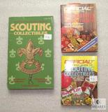 Lot 3 Official Price Guide & Identification Scouting Collectibles Books