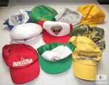 Lot 10 Vintage Boy Scout Trucker Style Caps Ball Hats