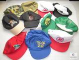 Lot 11 Vintage Boy Scout Trucker Style Caps Ball Hats