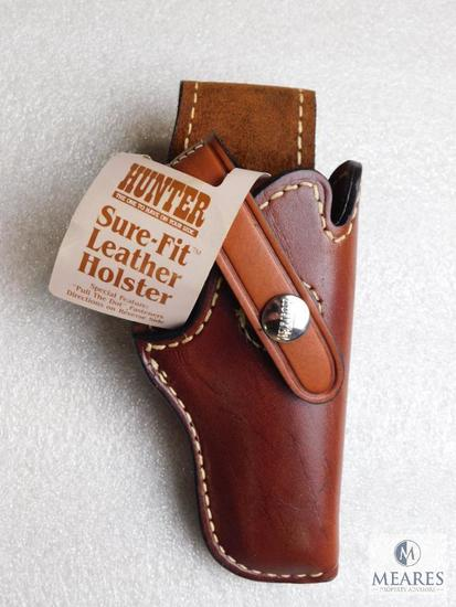 New leather Hunter 2300-11 suede lined holster fits Colt Mustang, Beretta tomcat and similar