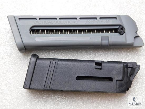 2.22 Long rifle Glock magazines for conversion kits