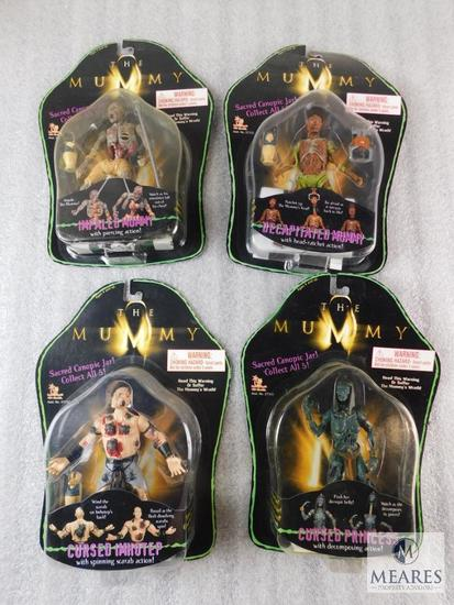 Lot 4 The Mummy Action Figurines Toys New Mummy's
