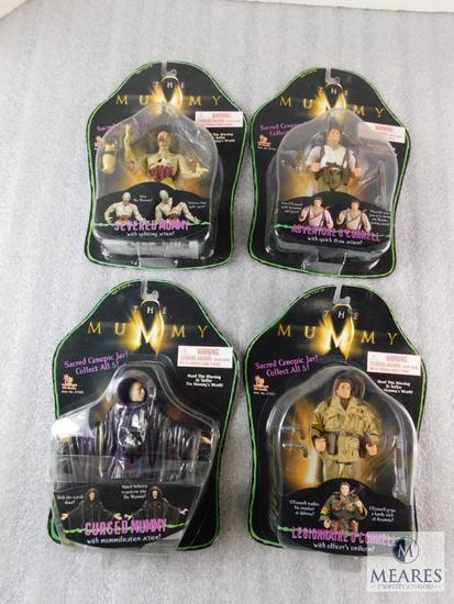 Lot 4 The Mummy Action Figures Toys New Mummy's & O'Connell