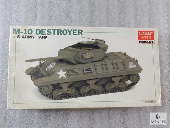 Academy Minicraft US Army Tank Destroyer M-10 New Model Kit 1/34 Scale