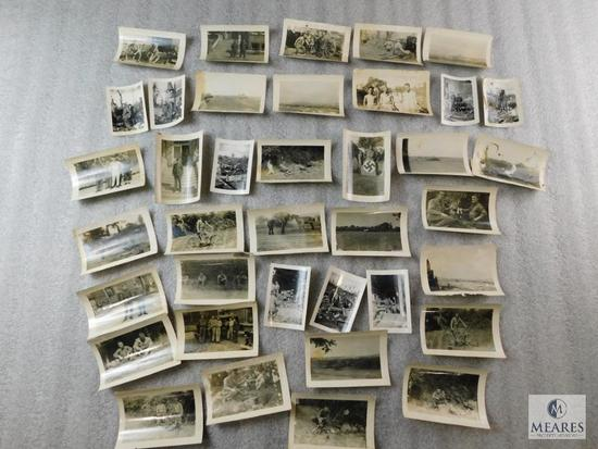 Lot of WWII Military War Time Photos (Not Copies) Black and White
