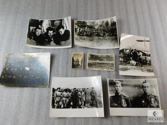 Lot of WWII Military War Time Photos - Some Copies, Some Originals