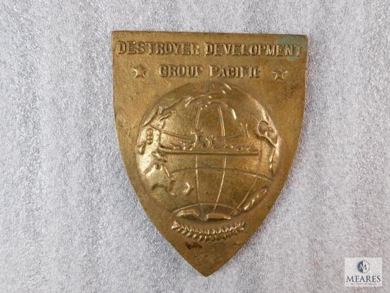 Destroyer Development Group Pacific Brass or Bronze Emblem