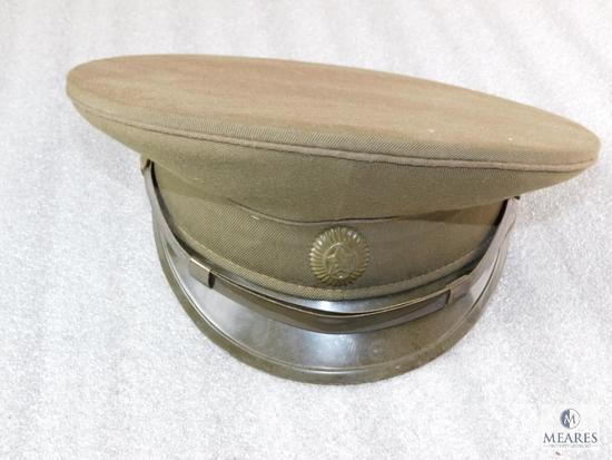 Soviet Union Military Officer Hat