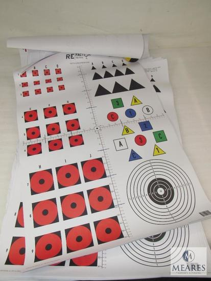 Re factor tactical Target shooting Paper (Approximately 50 sheets)