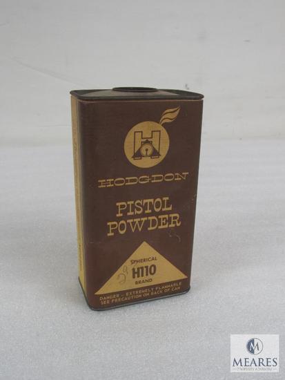 Hodgdon H110 antique powder can includes a little powder