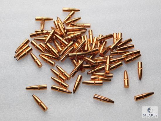 80 new remington 6mm 100 grain soft point bullets