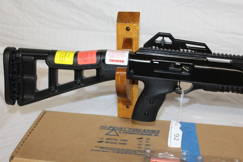 Lot: Hi-Point 4595  45 ACP Rifle w/3 Magazines  NIB