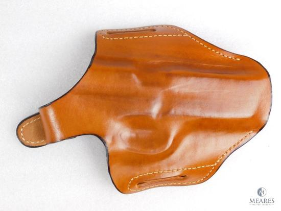New Leather pancake holster fits Smith and Wesson Sigma 9mm, 40 S&W and similar semi auto pistols
