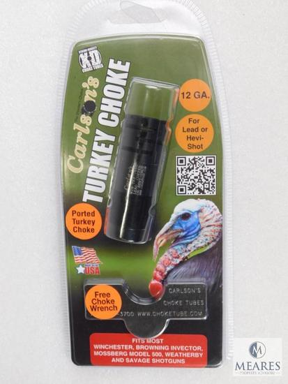 New Carlson's 12 Gauge extended Turkey choke tube with wrench for invector system