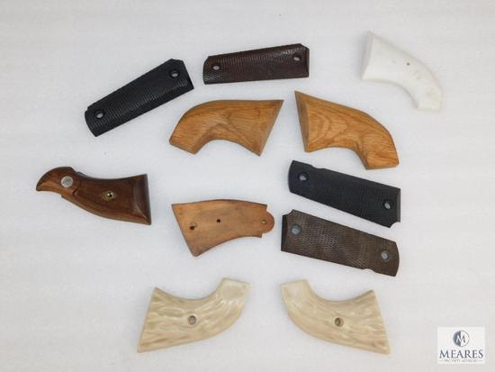 Assorted lot of grip panels 1911, S&W