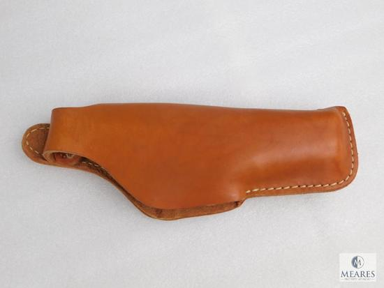 Leather thumb break holster fits Glock 17,22