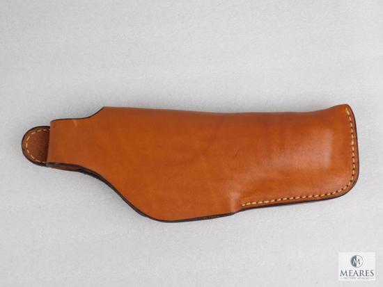 Leather thumb break holster fits Glock 20,21