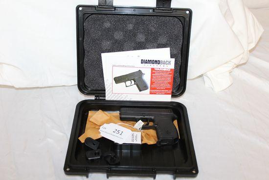 """Diamondback """"DB380"""" .380 Auto. Pistol.  NIB."""