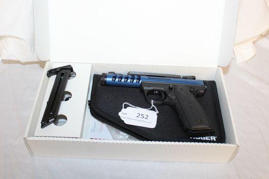 Ruger 22/45 Lite .22LR Pistol in Blue Anodize.  NIB.