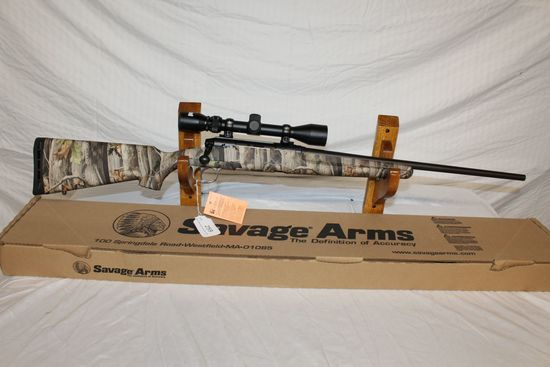 Savage Axis .22-250 REM Bolt Action Rifle in Camo w/Scope.