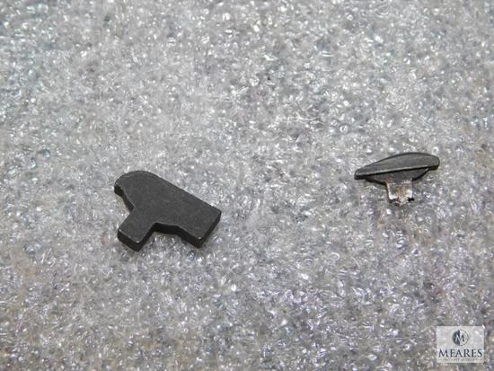 1911 blued front sight narrow tenon, 1911 blued front sight wide tenon