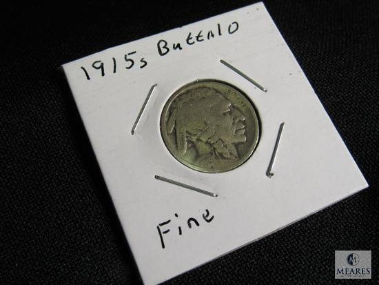 1915 S Buffalo Nickel F-12 Very Fine