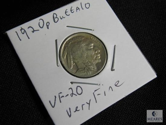 1920 P Buffalo Nickel VF-20 Very Fine