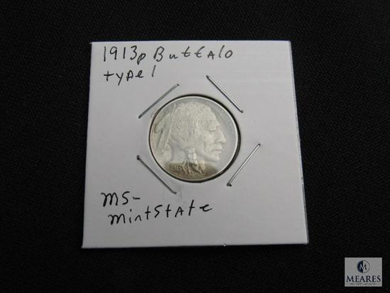 1913 P Buffalo Nickel Type 1 MS-Uncirculated
