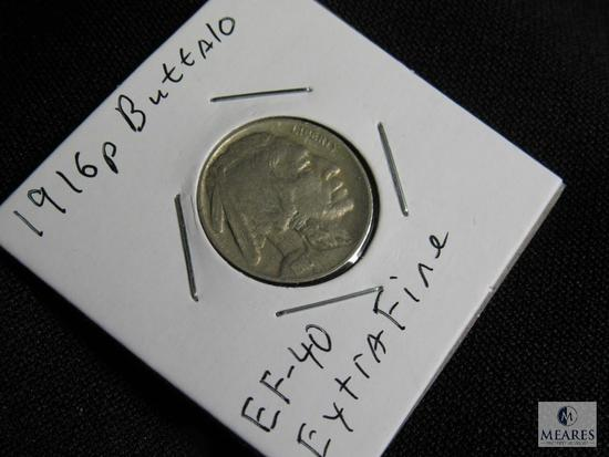 1916 P Buffalo Nickel Extra Fine EF-40